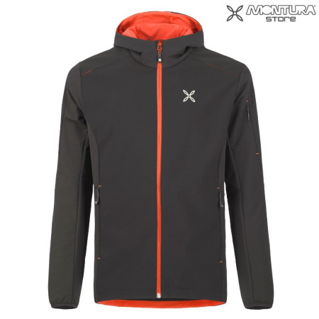 Montura El Chalten 2 Jacket Men - black/orange