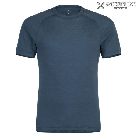 Montura Merino Light 2 T-Shirt Men - jeansblue