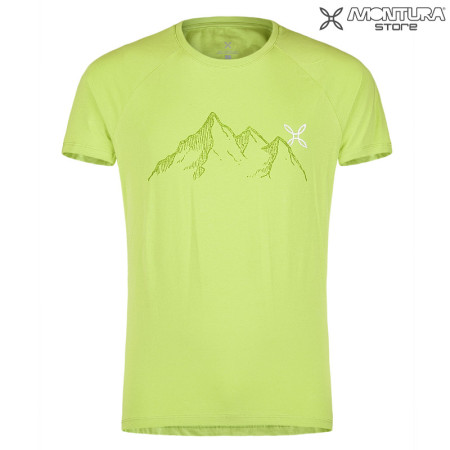 Montura Mountain T-Shirt Men - light green