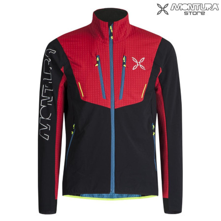 Montura Ski Style Jacket Men - black/red