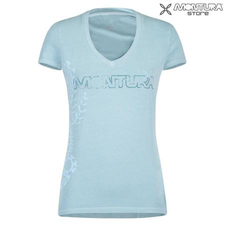 bis zu 80% sparen zuverlässigste größter Rabatt Montura Tattoo T-Shirt Women - iceblue