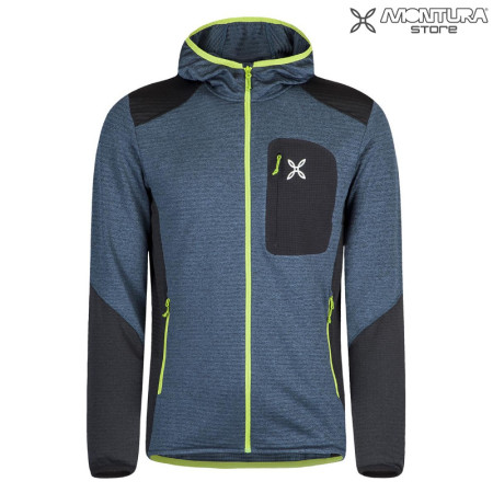 Montura Thermal Match Hoody Maglia Men - jeansblue