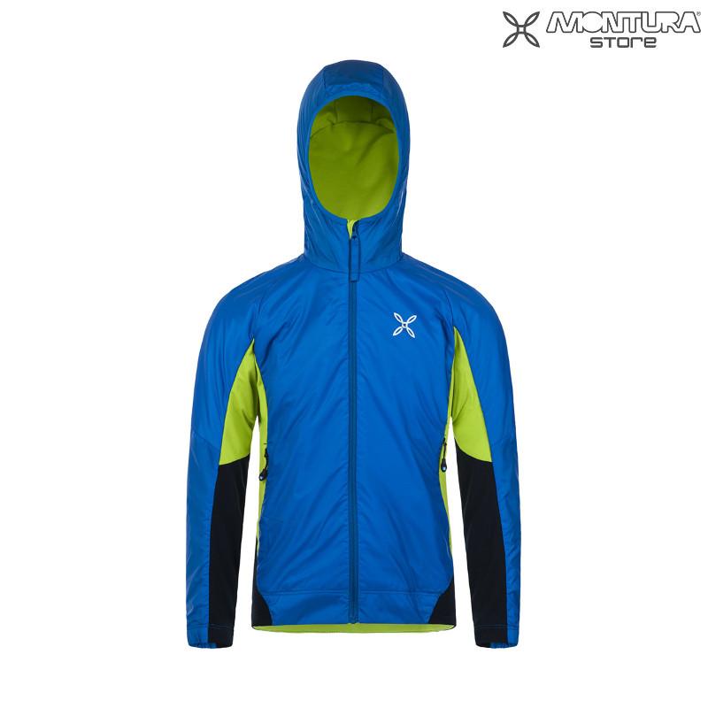 Montura Formula Light Jacket Kids - blue Montura Online Shop