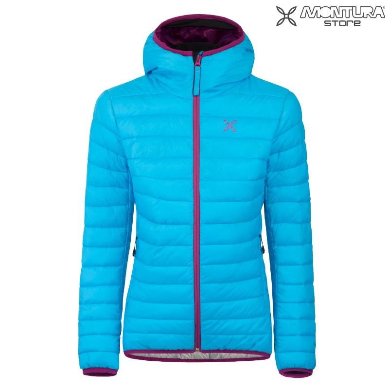 Montura Genesis Hoody Jacket Women turquoiseviolet