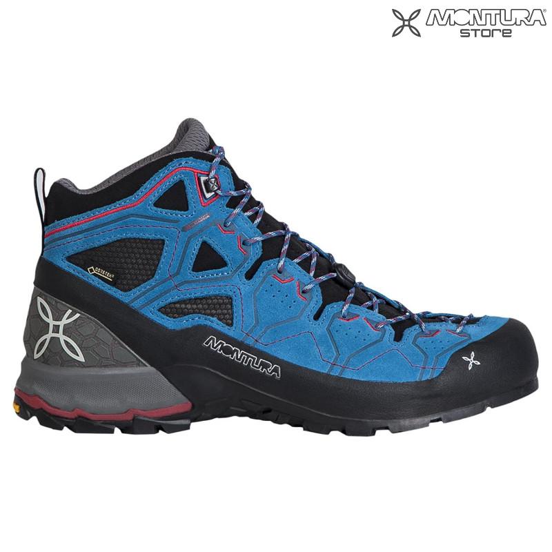 promo code 03628 f48c4 Montura Yaru Tekno GTX Shoes Men - dark petrol Montura ...