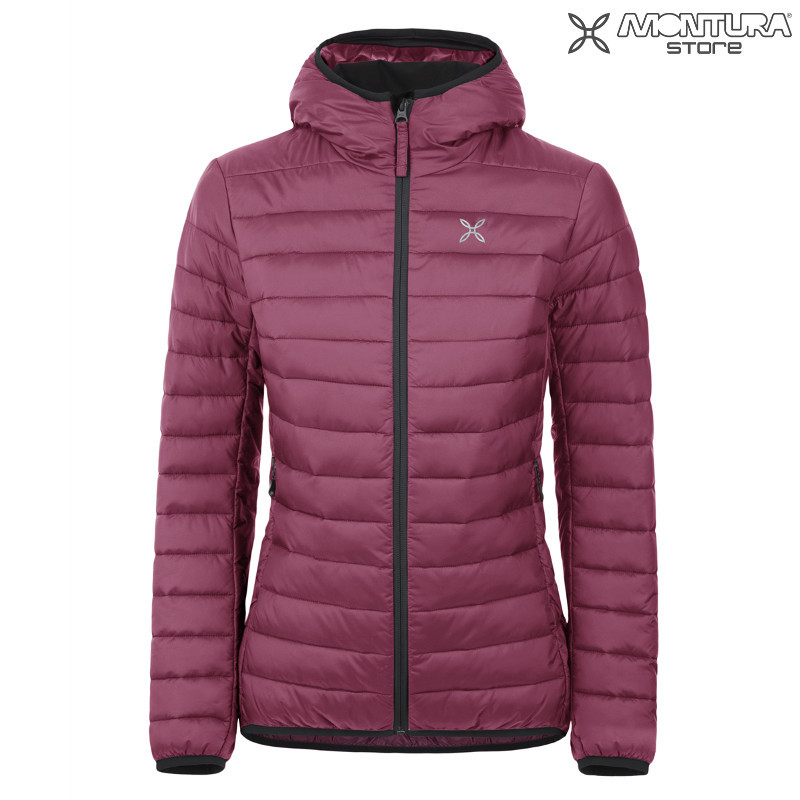Montura Genesis Hoody Jacket Women - bordeaux