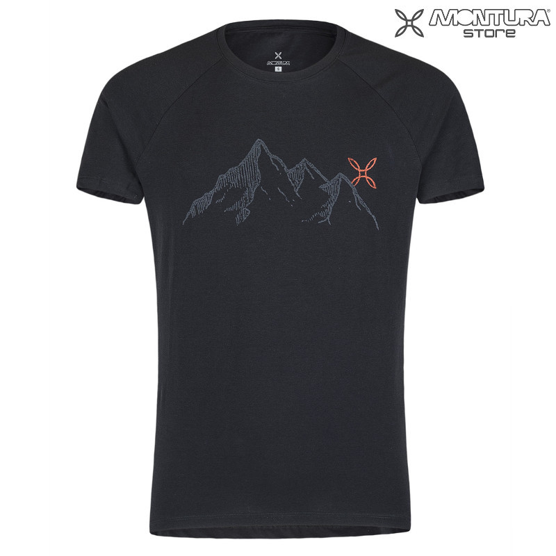 Montura Mountain T-Shirt Men - schwarz