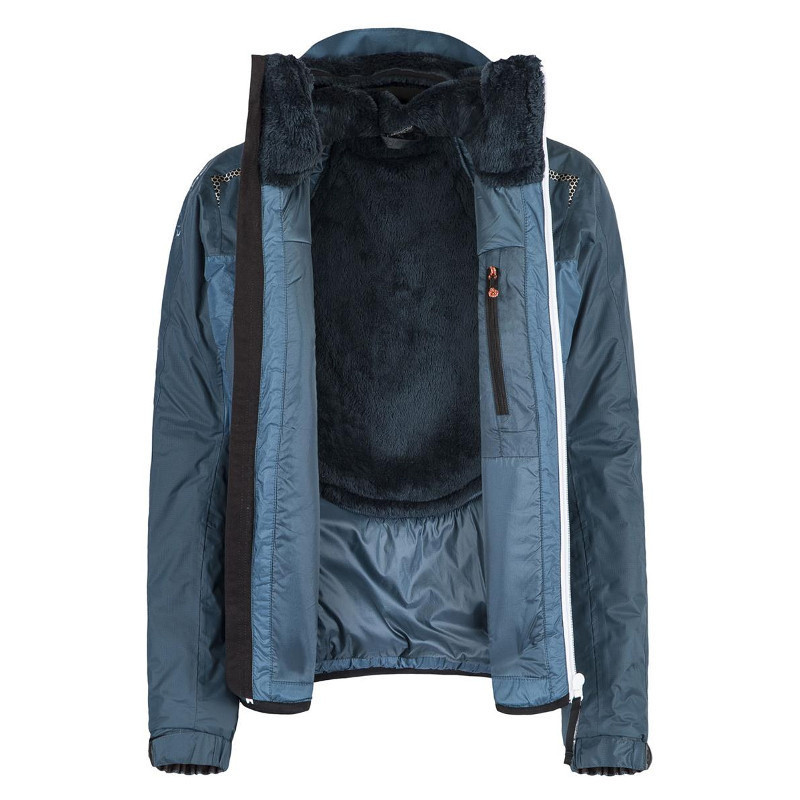 MONTURA Connect Pro Jacket W Blu Cenere JAD38W 8600// Outdoorkleidung für Frauen
